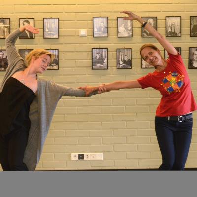 Lotte Ahlström besökte Stiftelsen