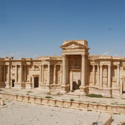 Palmyra i Syrien
