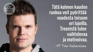 Vaakakapinan PT Timo Haikarainen