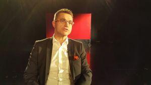 Mika D Rubanowitsch i Rivet ur arkivets tv-studio