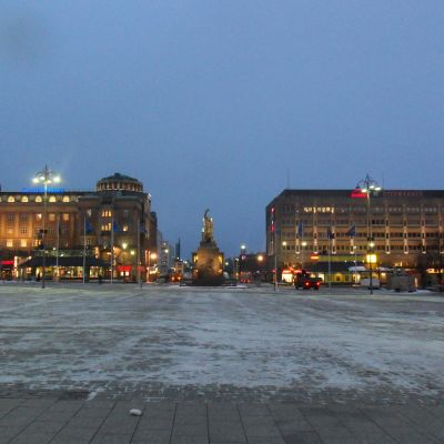 Vasa torg i november 2010.