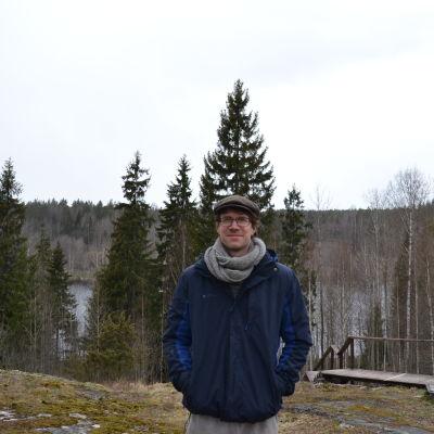 Porträttbild på Axel Baarman.