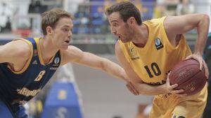 petteri koponen i Eurocup-finalen mot Gran Canaria