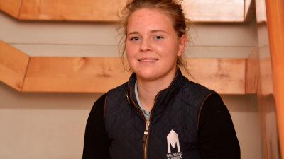 Janina Kvarnström i Sportmåndag 7.12.2015