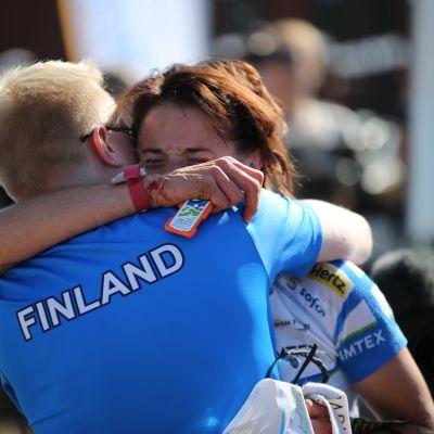 Juha Taini och Merja Rantanen, VM 2013