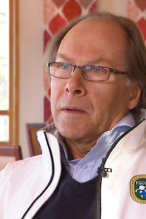 Suomen Golfkenttien Yhdistyksen hallituksen puheenjohtaja Hans Weckman.