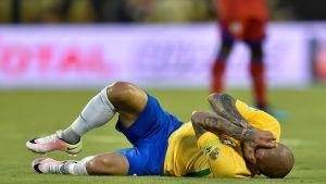 Dani Alves lider under Copa America.