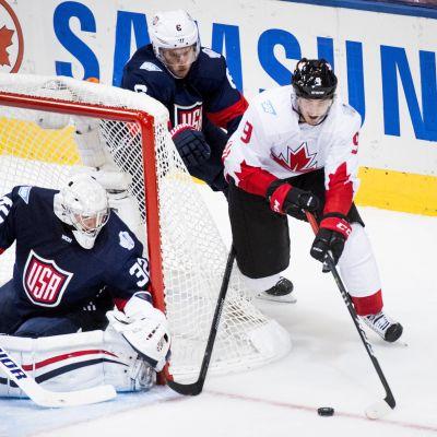 Matt Duchene gjorde två mål mot USA.
