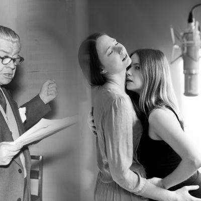Axel Slangus, Kajsa Ek och Sara Soulié