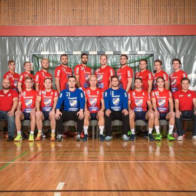 Helsingfors IFK:s handbollsherrar inför säsongen 2016-2017.