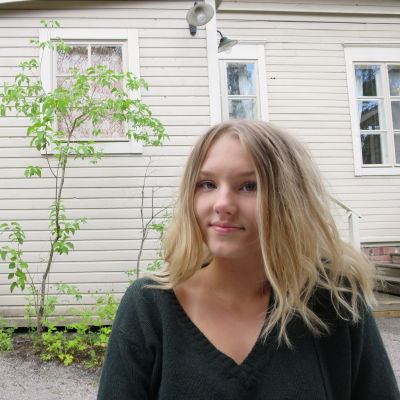 Opiskelija Ada Vänninen.