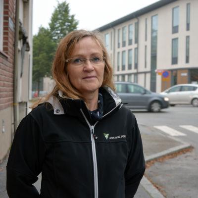 Porträtt av Heli Lintamo.