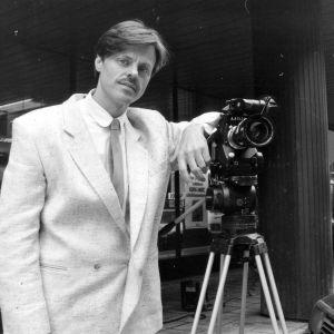 Claes Olsson ja filmikamera