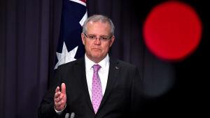 Australiens premiärminister Scott Morrison