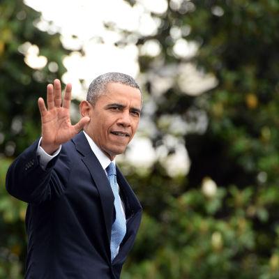 Barack Obama i Washington den 28 maj 2014.
