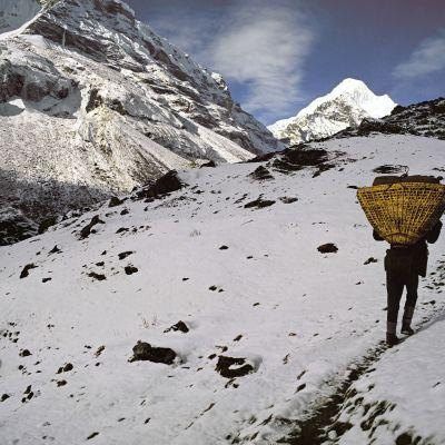 Makalu-Parun kansallispuisto Nepalissa.