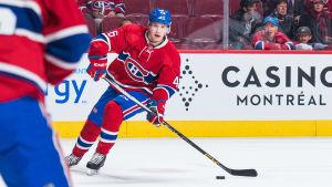 Artturi Lehkonen, Montreal Canadiens, hösten 2016.