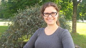Katarina Hellèn forskar om lycka