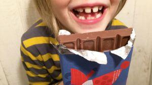 Pikku Kakkosen suklaakääre