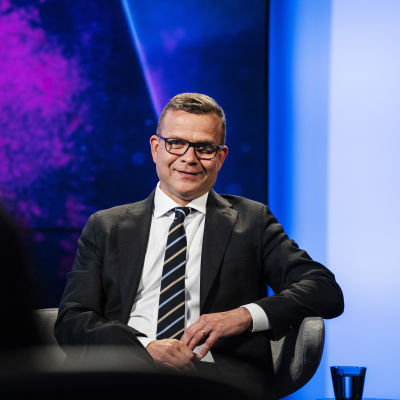 Kuvassa Ylen tiloissa on Petteri Orpo, joka osallistui Ylen A-studioon 8. kesäkuuta 2020.