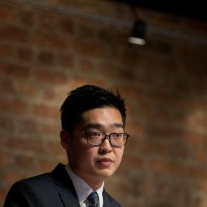 Självständighetspartiets grundare Andy Chang.