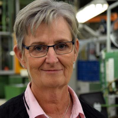 Inköpschef Britt-Marie Granström på Fiskars Ab.