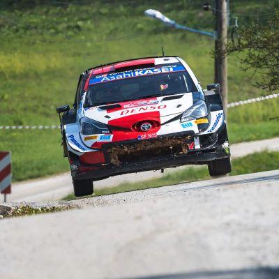 Sebastien Ogier i Kroatiens VM-rally.
