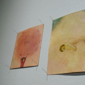 två konstbilder