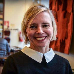 Sara Ehnholm Hielm, förläggare på Förlaget M.