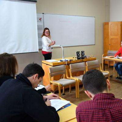 undervisning i klass