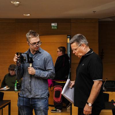 Kuvassa on Jari Aarnio Helsingin käräjäoikeudessä syyskuussa 2020.
