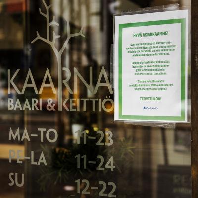 Ravintola Kaarna.