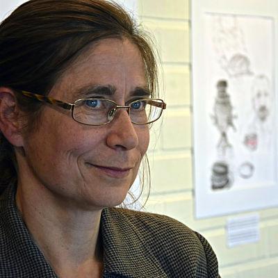 porträttbild kvinna