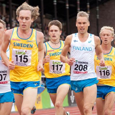 Löpare i Sverigekampen