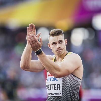 Johannes Vetter, VM 2017.