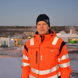 Leif Åkers, vd för Stormossen.