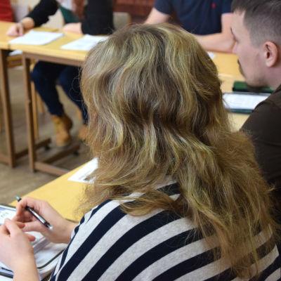 personer i undervisningsklass