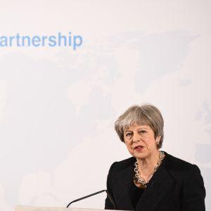 """Talet hölls under rubriken """"Vårt framtida partnerskap."""""""