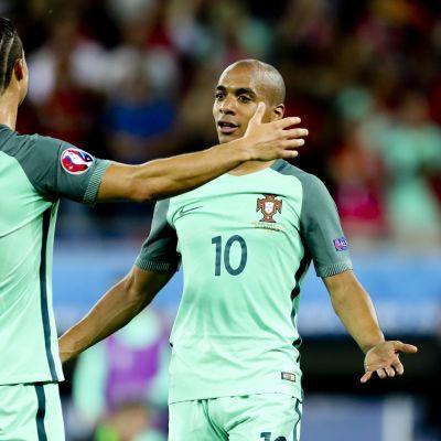Cristiano ROnaldo ja Joao Mario