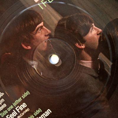 En specialutgåva av singeln I feel fine med The Beatles