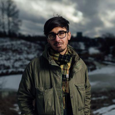 Författaren Adrian Perera.