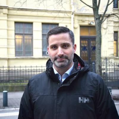 Yaron Nadbornik, ordförande i Helsingfors judiska församling.