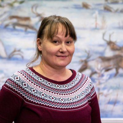Anne Ollila on Paliskuntain yhdistyksen toiminnanjohtaja.