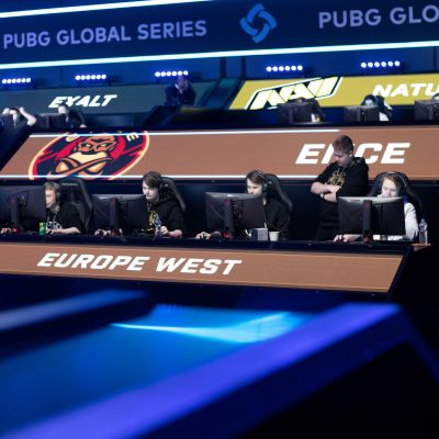 ENCEn PUBG-joukkue Berliinissä.