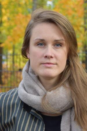 Närbild på Eva-Maria Koskinen