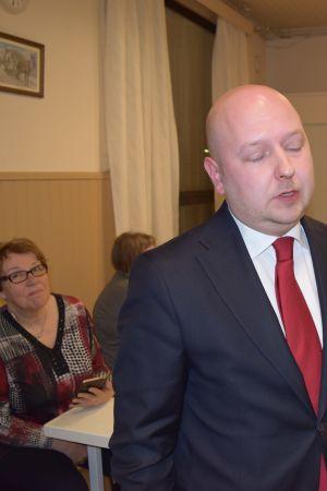 Joona Räsänen är besviken.