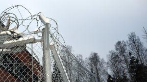 Migrationsverkets förvarsenhet för utlänningar i Helsingfors.