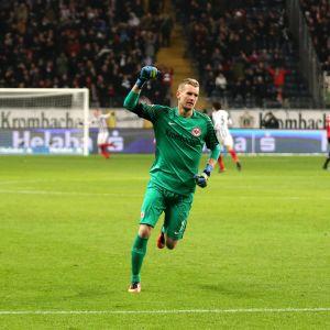 Lukas Hradecky, Eintracht Frankfurt