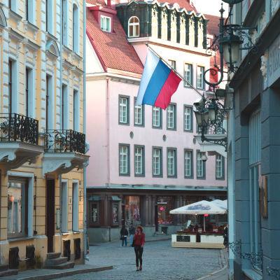Rysslands ambassad i Tallinn.