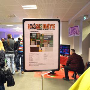 Vaasa Game Days 2016 på Vasa universitet.